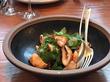 Go Eat This: Grilled Calamari With Kimchi At Octavia