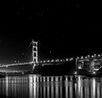 Golden Gate B&W