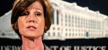 Ousted Deputy Attorney General Testifying on Russia, Flynn