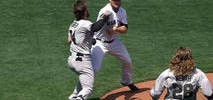 Punches Thrown, Benches Clear in Giants-Nationals Game