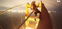 Thrill-Seekers Scale Golden Gate Bridge, Dangle From Tower