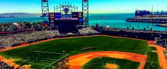 AT&T park in haze color