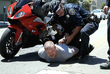 Motorcyclist Who Allegedly Drove Through Protest Is Head Of 'White Privilege Club'