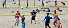 Ocean Beach, volleyball,