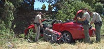 One Dead in Solo Vehicle Rollover Crash in Napa County