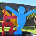 Three Dancing Figures by Keith Haring