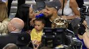 Warrior Babies Delight Crowd at NBA Finals