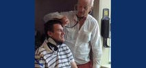 Actor Bill Murray Pays Visit to Paralyzed Cal Rugby Player