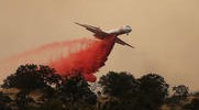 Crews Stop Spread of Huge Wildfire Burning Near Yosemite