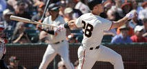 Posey Comes Through in a Pinch, Lifts Giants Over Indians