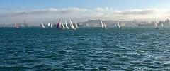 sailing on San Francisco Bay