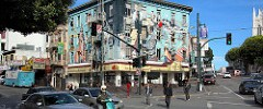 San Francisco: North Beach mural