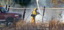 San Jose Fire Department Battles Brush Blaze