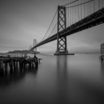 Bay Bridge Before Dusk with 10-Stop ND Filter