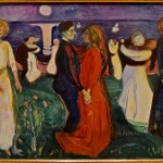 """Between the Clock and the Bed"", ""Edvard Munch"", ""The Dance of Life"", exhibit, MOMA, San Francisco"