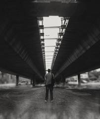 Ghetto. #art #me #bridge