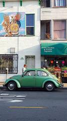 Verde que te quiero Verde. Missionerias... San Francisco, CA 2017