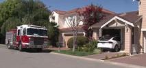 Woman Drives Tesla Into Living Room, Damages Novato House