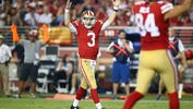 Bolden, Beathard Make Big Plays in 49ers Victory