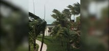 Cellphone Video of Hurricane Irma Over Turks And Caicos