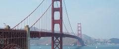 Golden Gate Bridge from south vista point.
