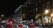 Polk Street in the rain