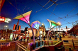 Day Around The Bay: LED Flower Things Sprout In Jane Warner Plaza
