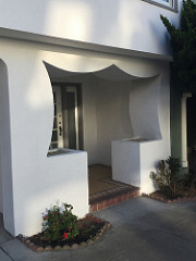 Entrance to a house