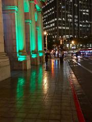 A rainy night in San Francisco
