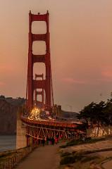 Golden Gate in Symmetry