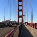 Walking on Golden Gate