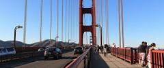 Walking on Golden Gate