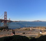 Sunny Afternoon in Golden Gate